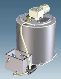 海水アイスフレーク製氷機 seawater-flakeice