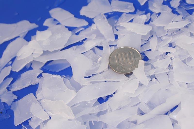 フレーク氷の写真